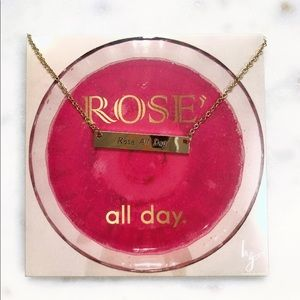 Jewelry - Rose All Day Gold Necklace
